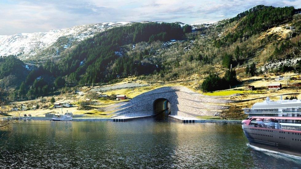 Norwegens Tunnelbauprojekt für Hochseeschiffe verzögert sich