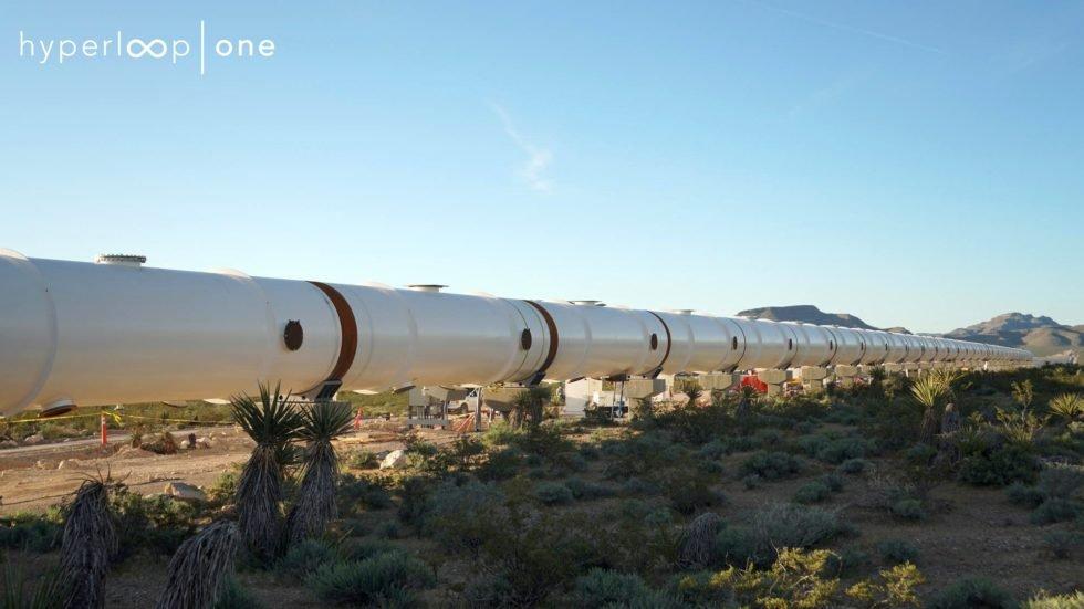 Hyperloop One eröffnet erste Teststrecke für Überschallzug