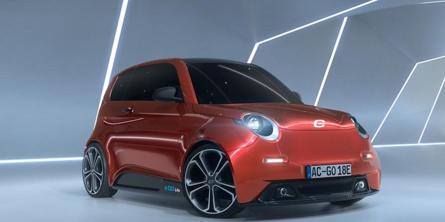 Dieses Elektroauto Für 16000 Euro Geht 2018 In Aachen In Serie