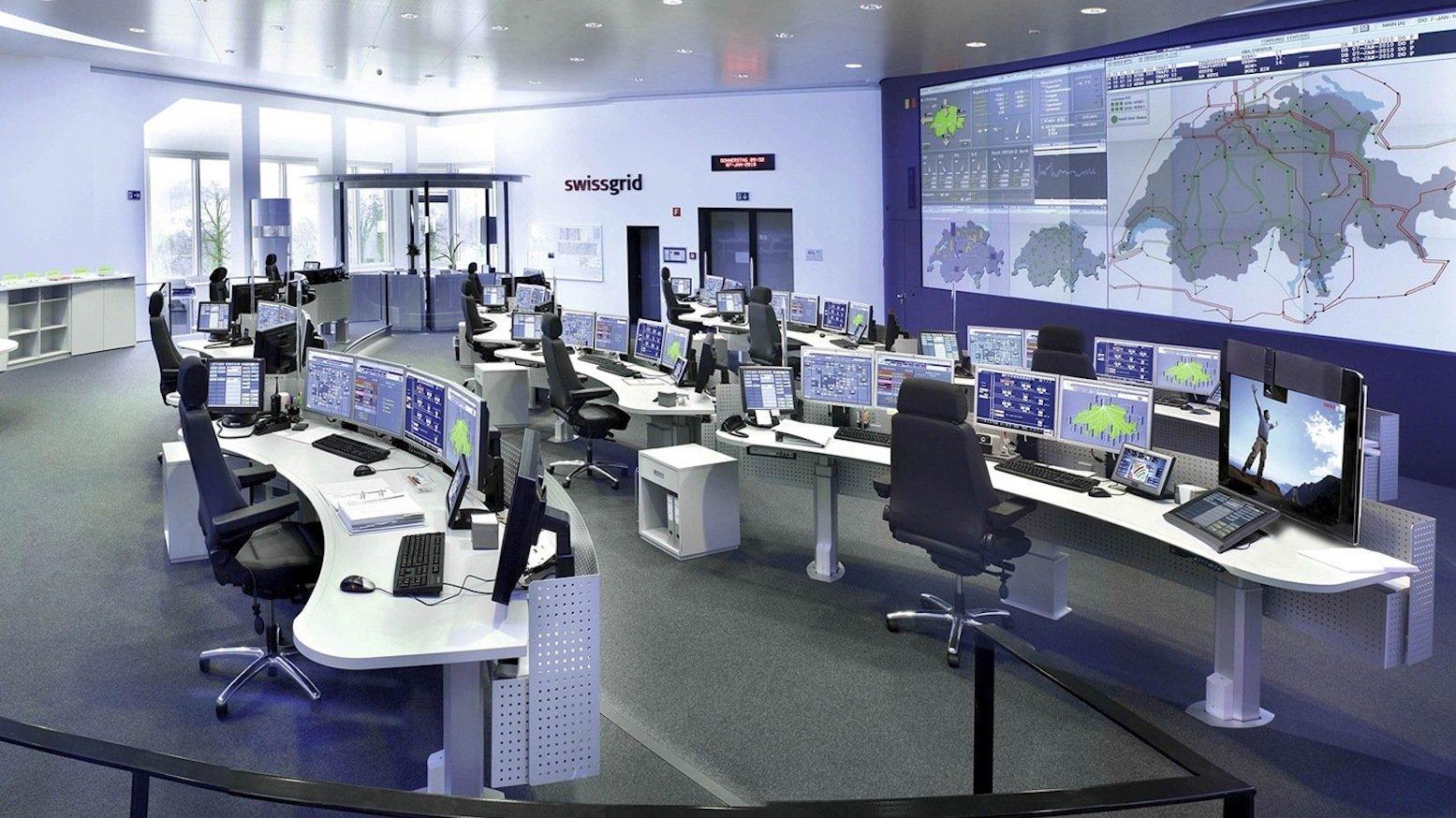 Zentrale des Schweizer Netzbetreibers Swissgrid: Von einem intelligenten Stromnetz ist Deutschland noch weit entfernt. Die Haushalte sind noch nicht einmal mit intelligenten Stromzählern ausgerüstet.