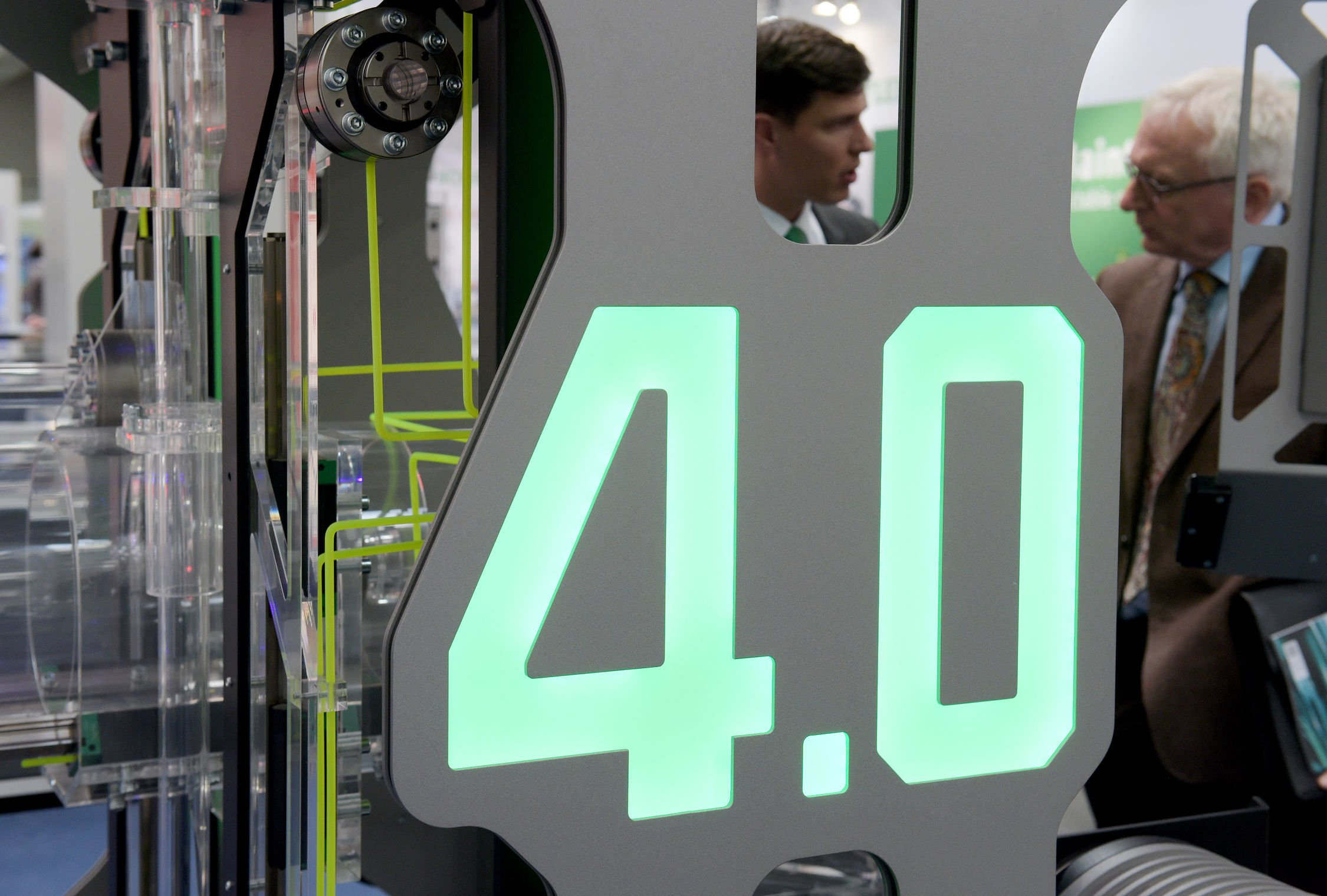 Industrie 4.0 soll die Produktivität der deutschen Industrie bis 2025 um jährlich80 Milliarden Euro steigern.
