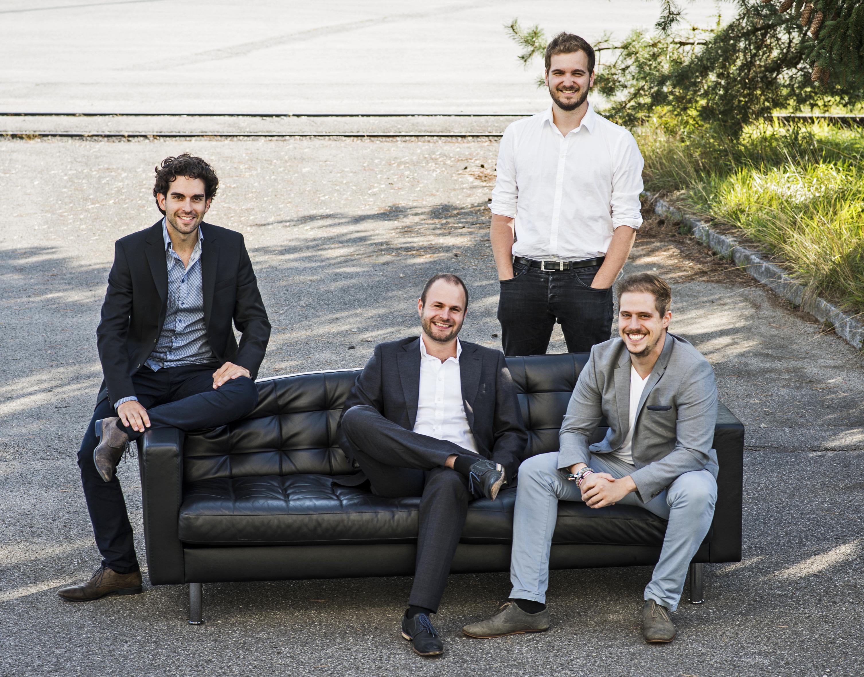 Die Gründer (v.l.) Daniel Wiegand, Sebastian Born, Matthias Meiner und Patrick Nathen haben mit Lilium gerade einen wichtigen Meilenstein erreicht.