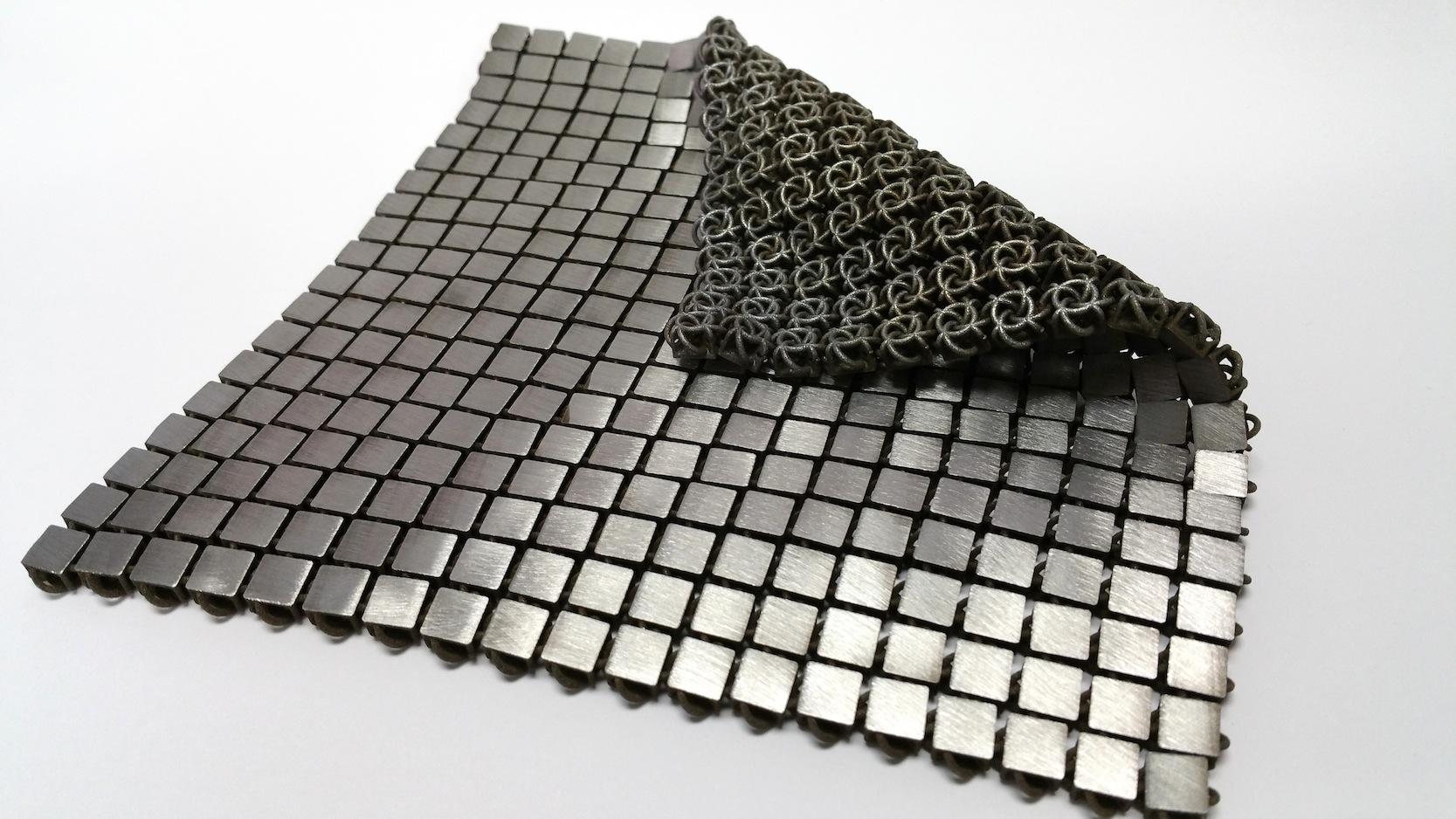 Das Metallgewebe kann je nach Herstellung mit verschiedenen Funktionen ausgestattet werden.