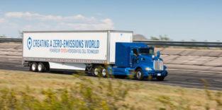 Toyota stellt Truck mit Wasserstoffantrieb vor