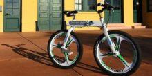 Bei diesem Fahrrad gibt es keine Fahrradkette