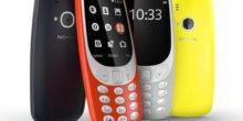 Das Kulthandy Nokia 3310 ist bestellbar