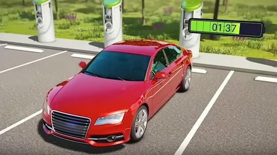 An der Ladestation: StoreDot hat eine Flashbatterie für Elektroautos entwickelt, die sich in fünf Minuten aufladen lässt.