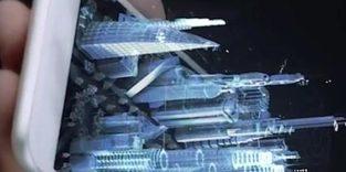 Demnächst kommt 3D-Holographie aus dem Smartphone