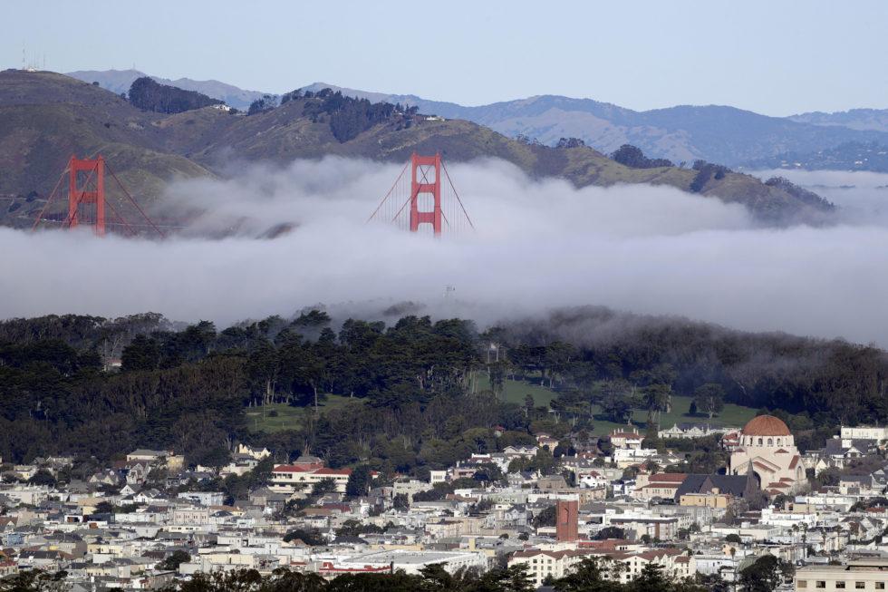 Die Golden Gate Bridge von San Francisco feiert ihren 80. Geburtstag