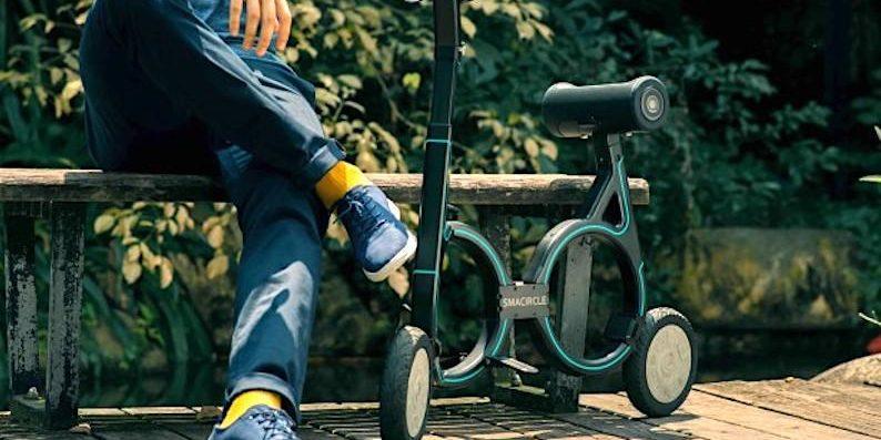 Leichtestes E-Bike der Welt passt in den Rucksack