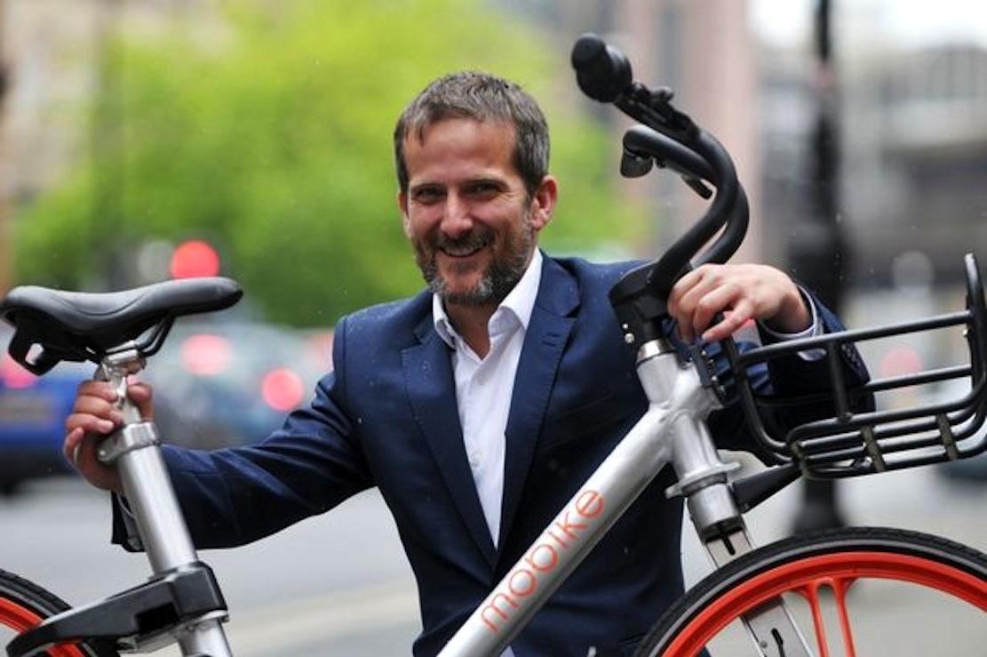 Mobike-ManagerSteve Pyer: Manchester ist ein Schaufenster für ganz Europa.