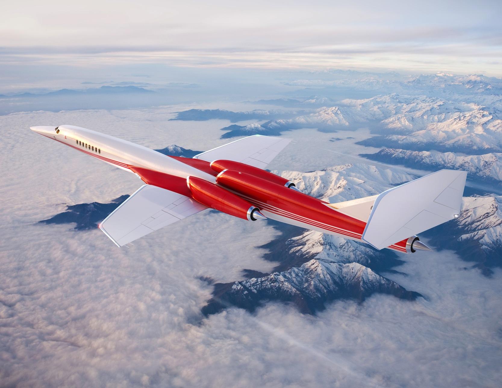 Auch Airbus will gemeinsam mit dem US-Unternehmen Aerion ein Überschallflugzeug entwickeln.