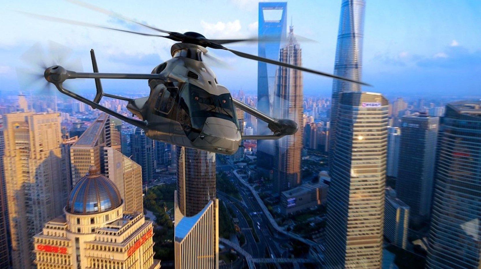 Racer von Airbus: Der Highspeed-Heli steigt 2020 in die Luft und soll beispielsweise Rettungsdienste noch schneller zu Einsatzorten fliegen.