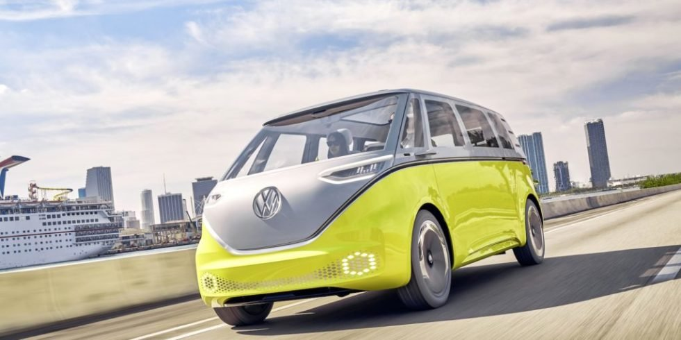 VW bestätigt: Der Elektro-Bulli I.D. Buzz geht in Serie