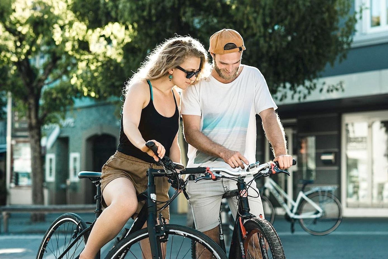 Bislang sind 535 Fahrradfahrer in Brüssel mit dem Ping-Button ausgerüstet. Sehen sie eine Gefahrenstelle, drücken sie den Taster und setzen damit einen Marker in der Smartphone-App.