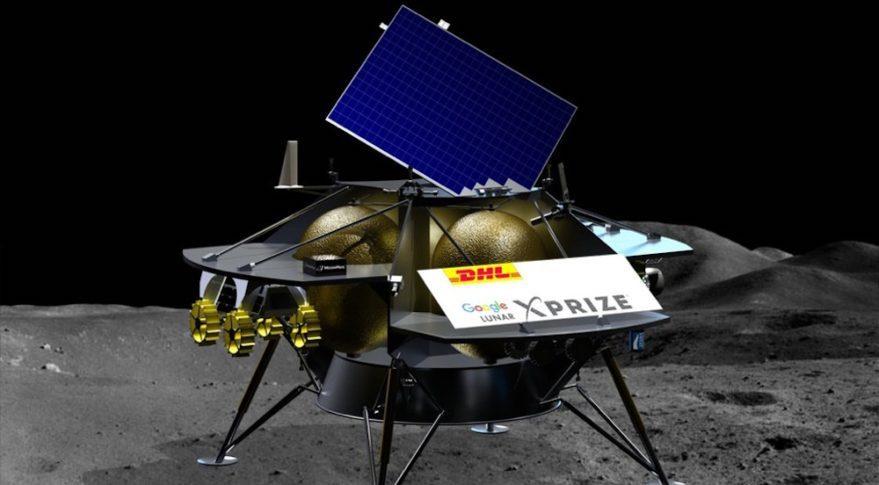DHL stellt sicher, dass die Reise zum Mond wie geplant durchgeführt werden kann.