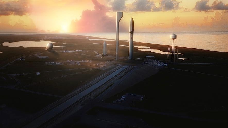 Der erste kommerzielle Flug mit privaten Weltraumtouristen zum Mond soll in der zweiten Jahreshälfte 2018 von CapeCanaveral in Florida starten. Von hier aus will auch Astrobotic zum Mond fliegen.