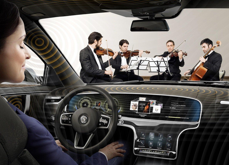 Das lautsprecherlose Soundsystem sorgt für 3D-Klang. Und die Klangqualität sei herausragend, bescheinigt ein Geigenbaumeister aus Landsberg.