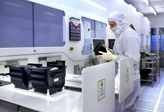 Allein die für die Mikroelektronik erforderliche Reinraumtechnologie verschlingt einiges an Fördergeldern.
