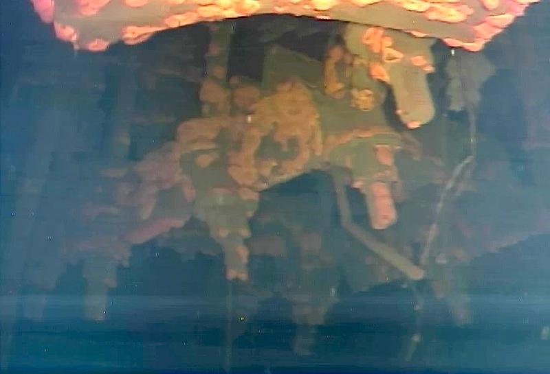 Manche der Roboter-Bilder erinnern an Aufnahmen von einem Schiffswrack.