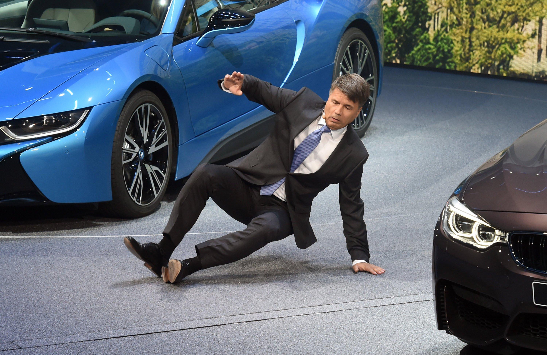 Den Stolperer auf der IAA 2015 konnte BMW-Chef Harald Krüger sicher leichter verschmerzen, als den neuen Vorwurf, dass BMW Teil eines Autokartells ist.