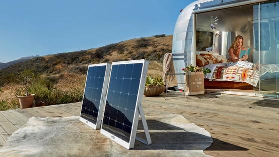Mit dem SolPad soll man künftig Strom an jedem Ort produzieren können, an dem die Sonne scheint. Die Module haben sogar einen Energiespeicher. Ende 2017 kommen die mobilen Module auf den Markt.