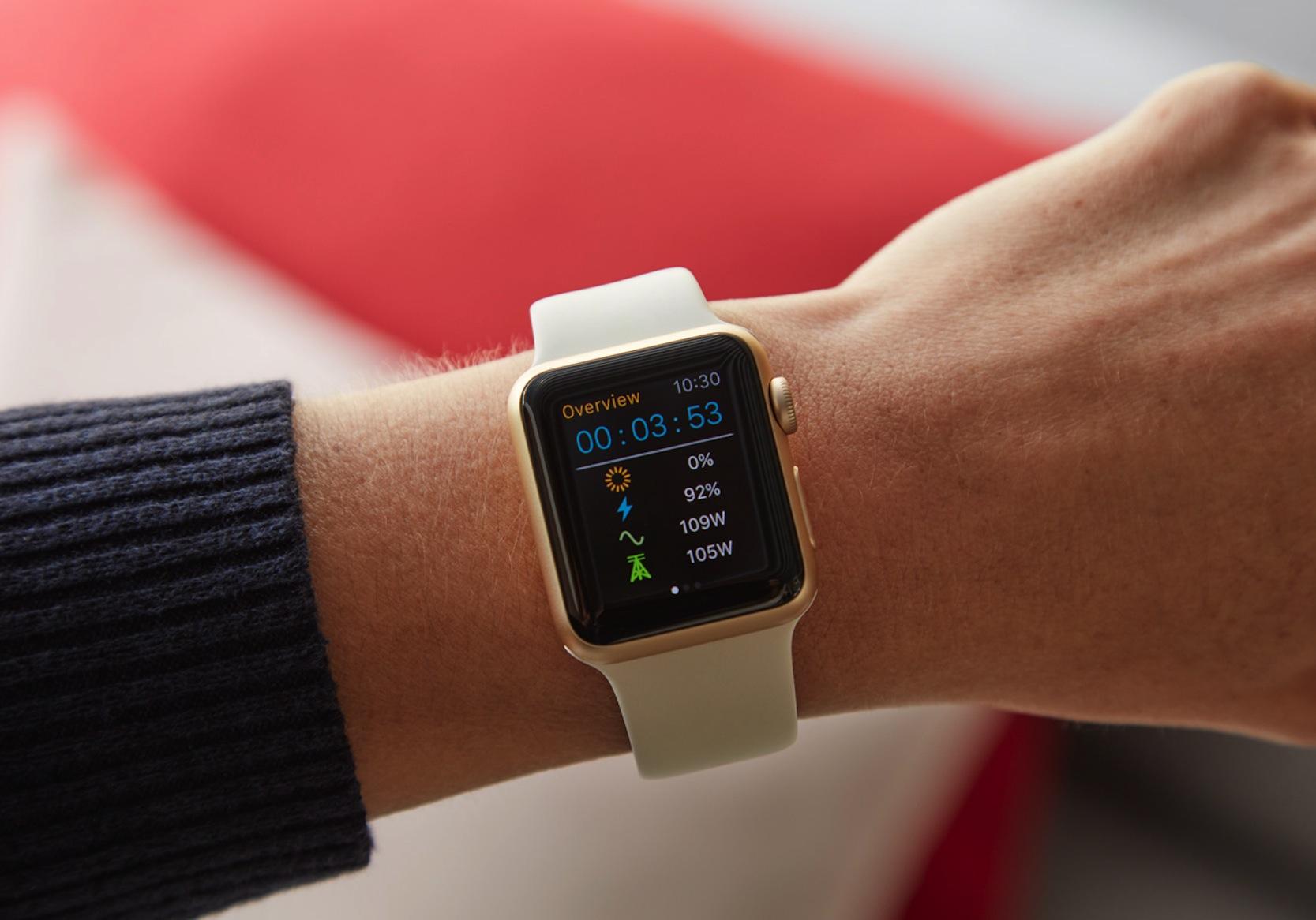 Überwacht und gesteuert werden die Module per Smartphone oder Smartwatch.