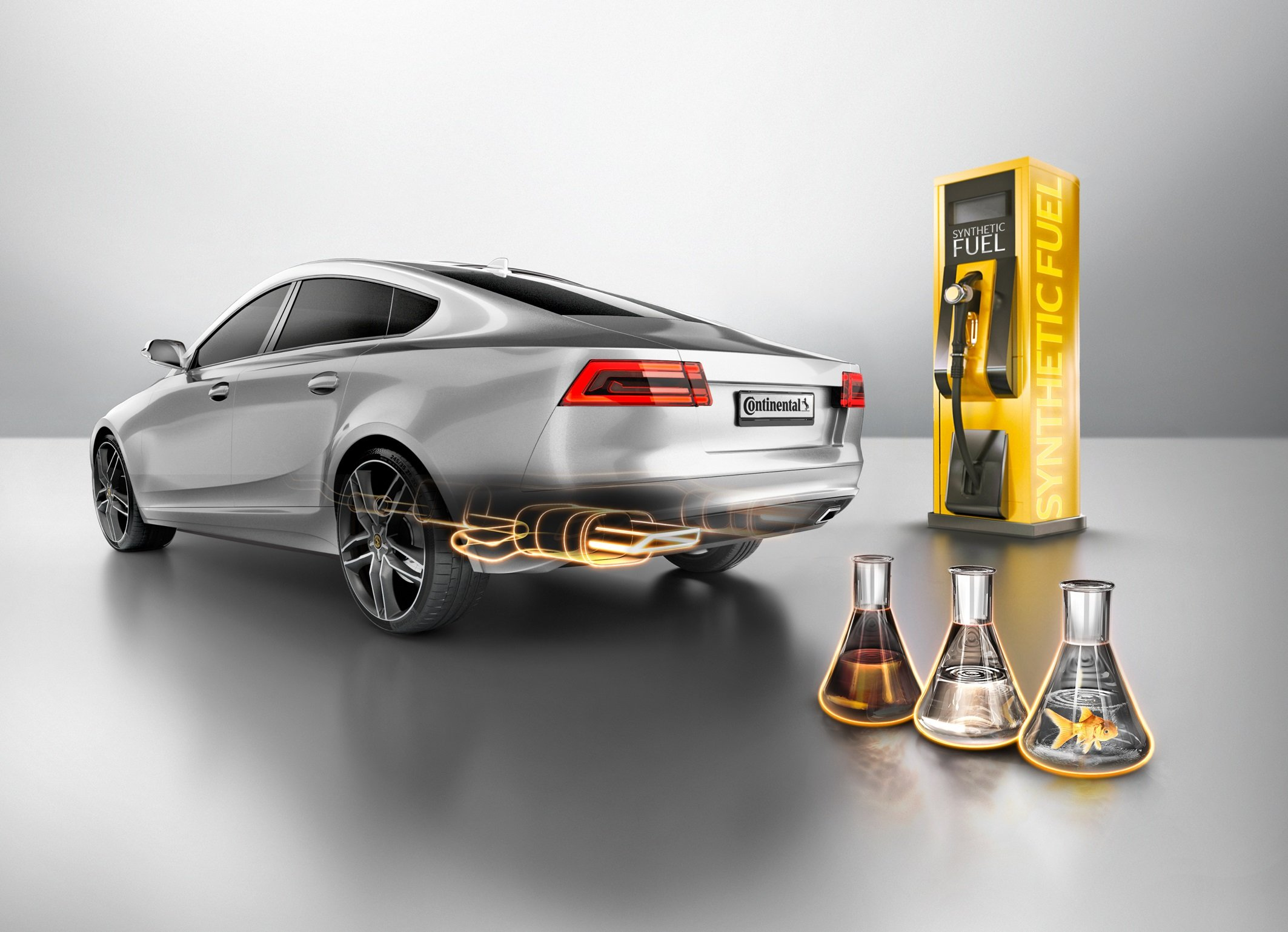 """""""Unsere Fahrzeugtests haben gezeigt, dass 15 Prozent OME-Beimischung im Dieselkraftstoff – zusätzlich zum aktuellen Biofuel-Anteil von 7 Prozent – schon heute motorisch nutzbar sind"""", soDr. Gerd Rösel, Leiter Advanced Engineering im Geschäftsbereich Engine Systems bei Continental, Division Powertrain."""