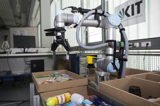 Dieser unscheinbarer Roboter könnte Warenhäüser revolutionieren.