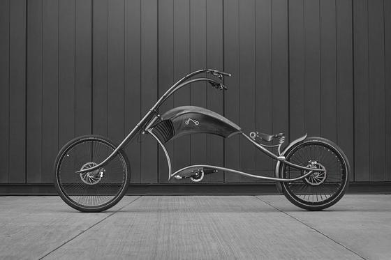 Das Modell ARCHONT electro von Ono Bikes –einzigartig und außergewöhnlich im Design. Jedes Stück wird von dem serbischen Hersteller handgefertigt.