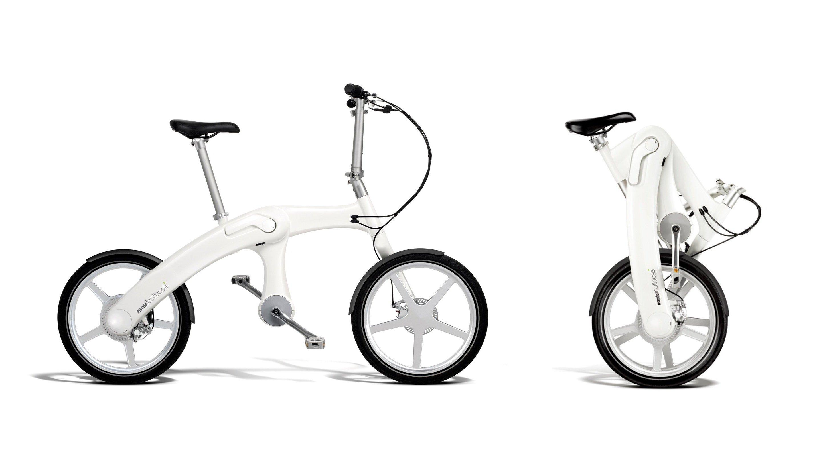 Mando Footloose - das faltbare und kettenlose E-Bike.