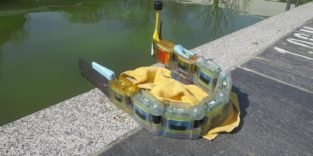 Roboter-Aal spürt Gift in Gewässern auf