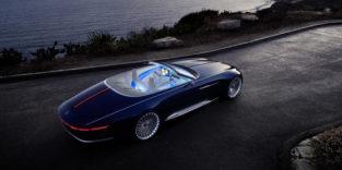 Ein Mercedes im Luxusyacht-Design mit elektrischen 750 PS
