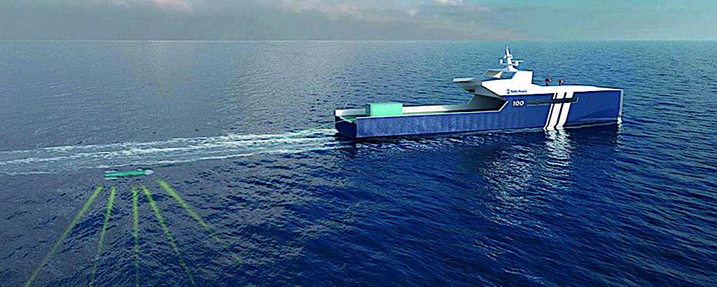 Droht Gefahr, könnte die Mission des Schiffes auf die Verfolgung und Überwachung umstellen.