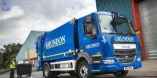 In Oxford fährt erster Müllwagen mit Wasserstoffantrieb
