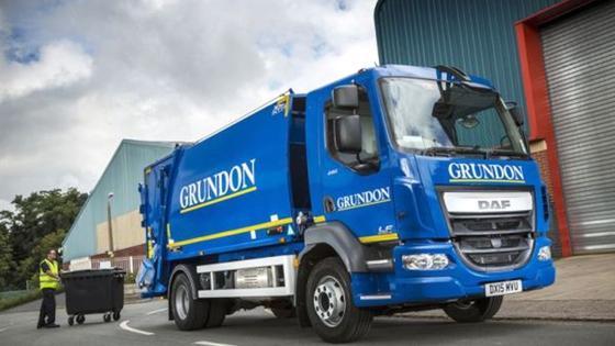 Für Grundon hat UlemCo einen Müllwagen des Lastkraftwagenherstellers DAF auf Wasserstoffantrieb umgerüstet.