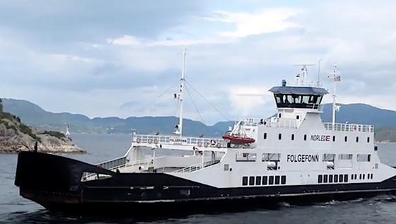 Die 85 Meter lange Hybrid-Fähre MF Folgefonn der norwegischen Reederei Norled wurde so umgebaut, dass sie drahtlos Strom tanken kann. Das von dem finnischen Konzern Wärtsila entwickelte Ladesystem soll zudem besonders schnell arbeiten.