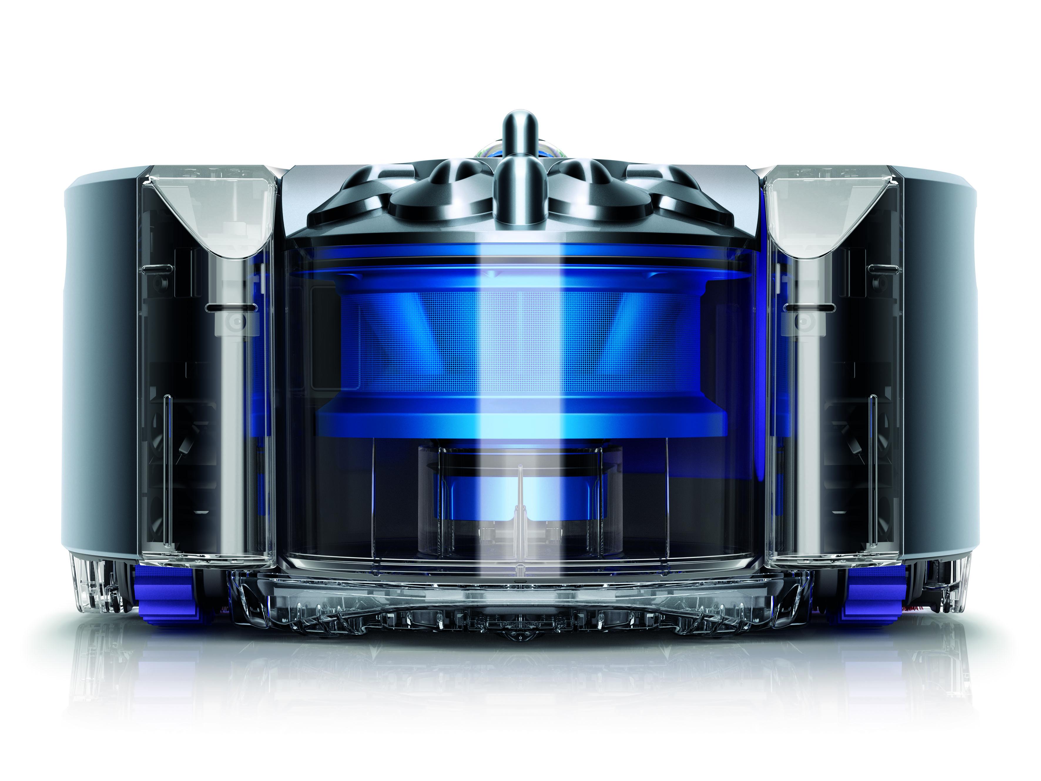 Roboter-Staubsauger von Dyson: Angeblich ist der Elektromotor, der das Auto künftig antreiben soll, schon entwickelt.