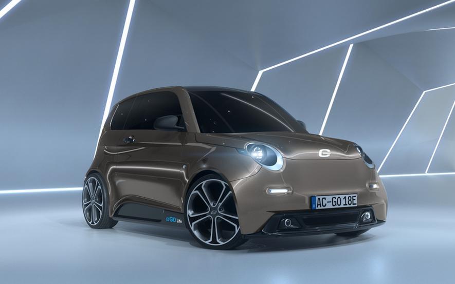 Das Elektroauto e.Go Life wurde an der RWTH Aachen entwickelt und wird 2018 in Serie gehen. Mit knapp 16.000 Euro Kaufpreis ist es das günstigste Elektroauto Deutschlands.