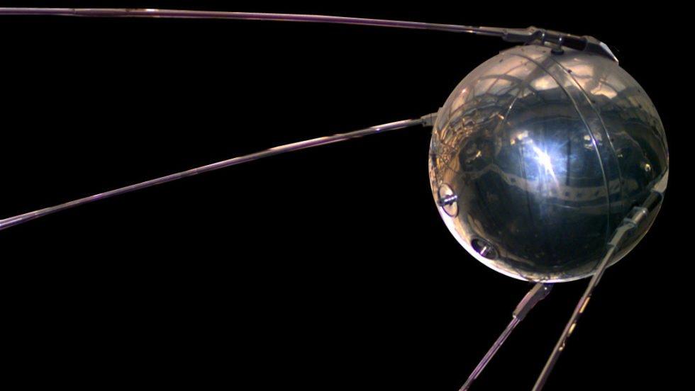 Modell von Sputnik 1