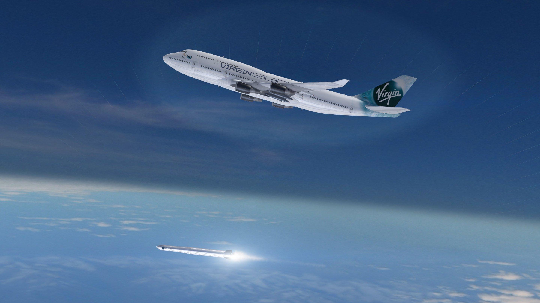 Starten sollen die Raketen zum Transport von Satelliten zwischen 200 und 400 kg Gewicht von einem umgebauten Jumbo, der bislang als Passagiermaschine eingesetzt wurde.