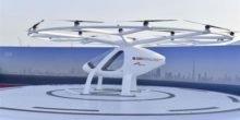 Erstes Flugtaxi steigt in Dubais Himmel auf