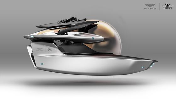 """Projekt """"Neptune"""" ist aus der Zusammenarbeit von Aston Martin und Triton Submarines LLC entstanden."""
