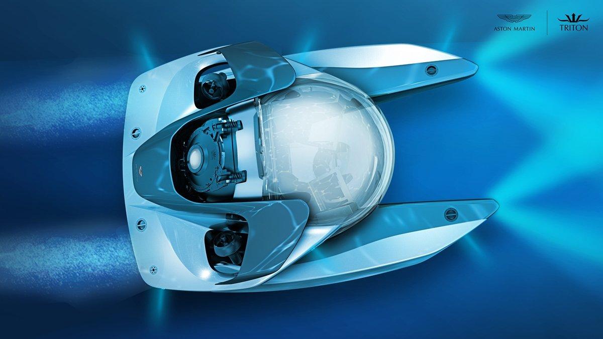 Das Projekt verbindet die Tauch- und Betriebsexpertise von Triton mit Design, Materialien und Handwerkskunst von Aston Martin.