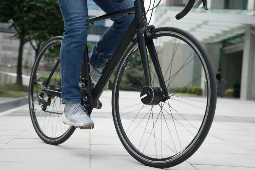 Fahrradschloss und Tachometer in einem
