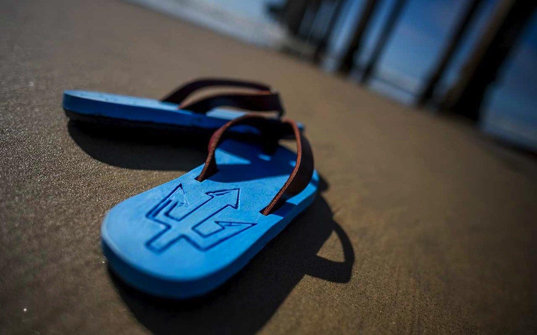 Drei Milliarden Flip-Flops werden pro Jahr weltweit hergestellt.