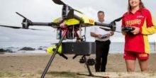 Drohne Little Ripper soll Wassersportler vor Haien schützen
