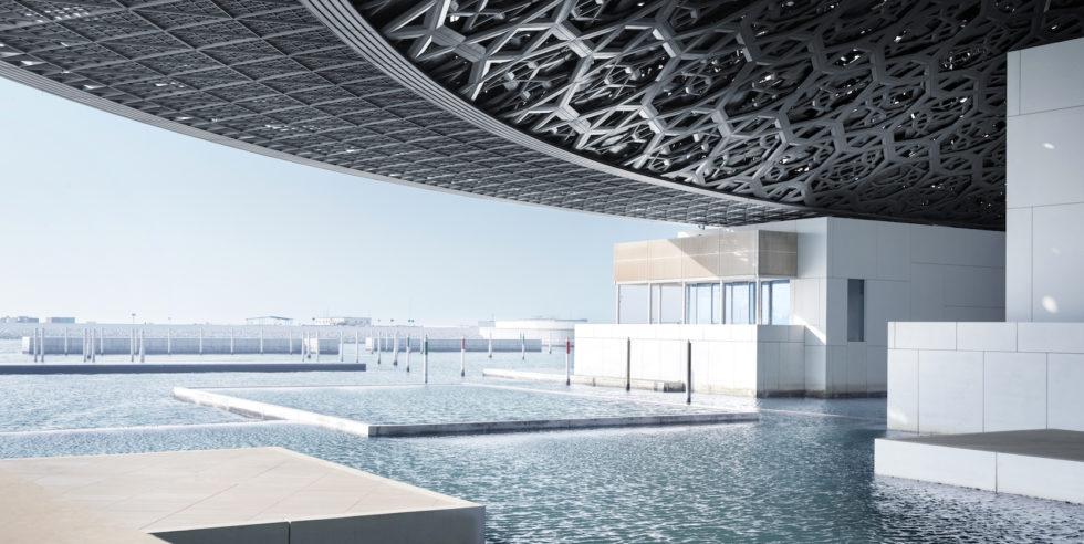 Louvre Abu Dhabi: Diese Kuppel ruht auf nur vier Punkten
