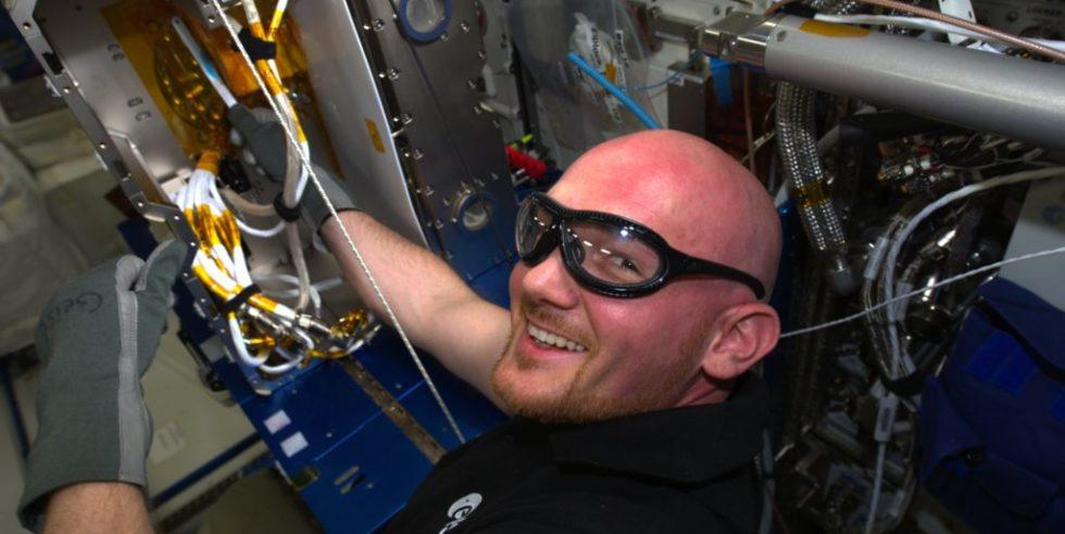 Astronaut Alexander Gerst wird 2018 erneut zur ISS fliegen und der erste deutsche Komandant auf der Internationalen Raumstation.