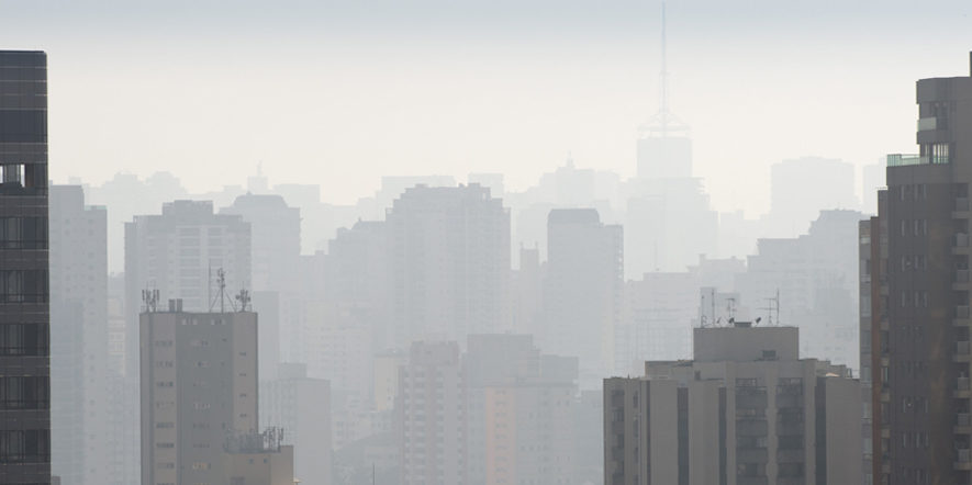 Die Umweltprobleme sind inSão Paulo unübersehbar.